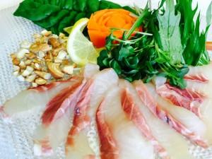 鮫のカルパッチョ